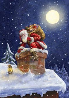 Santa_on_roof