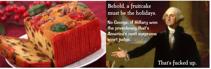 George_and_the_fruitcake