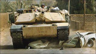 Tank_runs_over_car