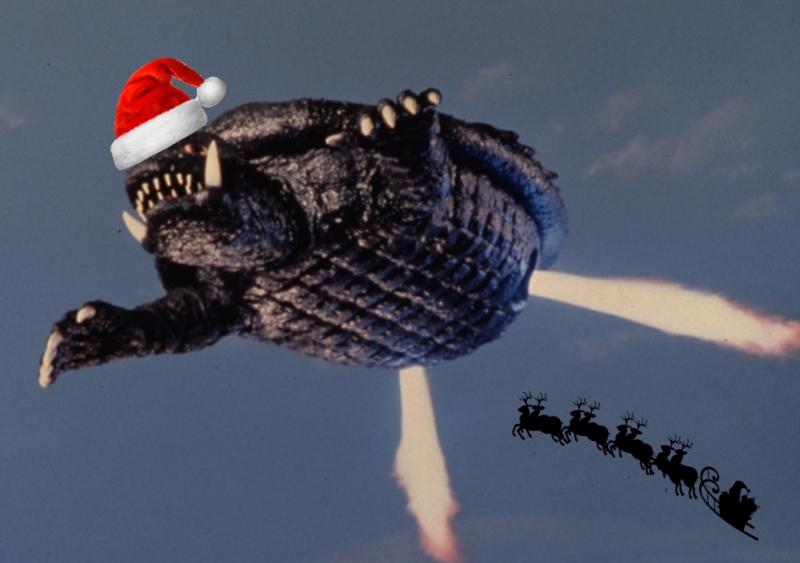 Christmas_gamera